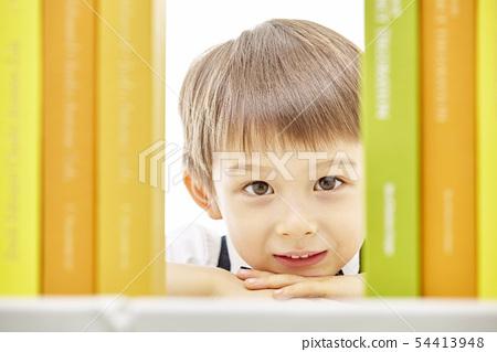 유아,어린이,키즈,책,독서,공부,학습,교육,비즈니스맨 54413948