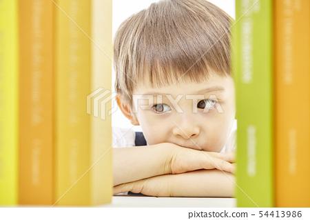 유아,어린이,키즈,책,독서,공부,학습,교육,비즈니스맨 54413986