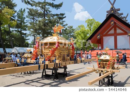Sumiyoshi Festival 54414046