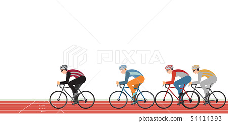 Group of cyclists man in road bicycle racing on 54414393