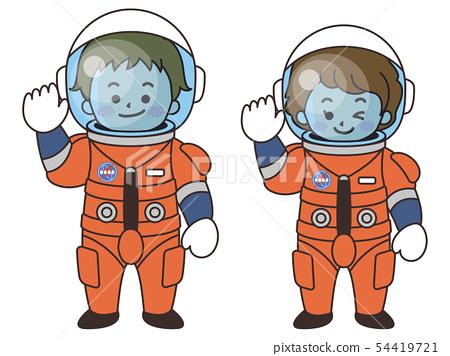 宇航員男女 54419721
