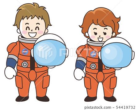 宇航員男女 54419732