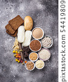 Set of gluten free products 54419809