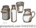 우유, 양철통, 캔 54425053