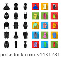 衣物 裙子 图标 54431281