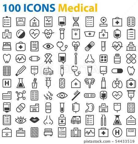 圖標 Icon 醫院 54433519