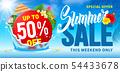 Summer Sale Design 54433678