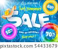 Hot Summer Sale Design 54433679