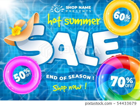 Hot Summer Sale Design 54433679