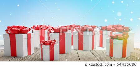 christmas presents red white christmas presents 54435086