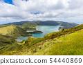 Crater Lake Lagoa do Fogo, Sao Miguel Island, 54440869