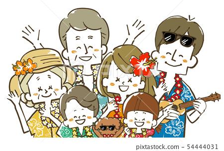세 가족 여행 - 리조트 - 미소 54444031