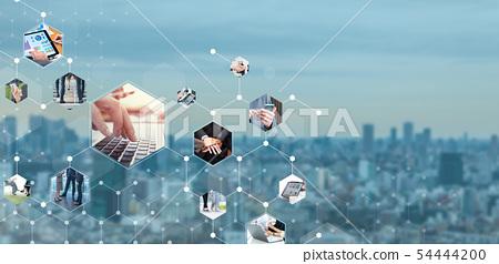 비즈니스 및 네트워크 54444200