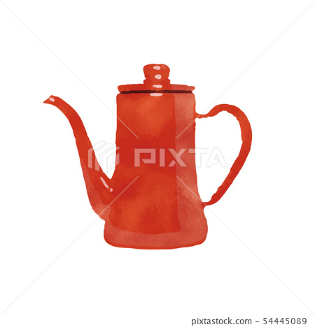 Red pot 54445089