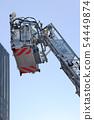 用梯子车建造屋顶救援训练 54449874