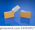 폴더, 바인더, 파일 54450957