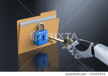 Data security concept 54450958