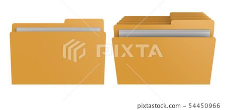 file or folder isolated 54450966