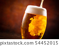 A toast with beer 54452015