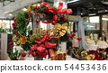 christmas Close up of decorative flowers  54453436