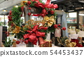 christmas Close up of decorative flowers  54453437