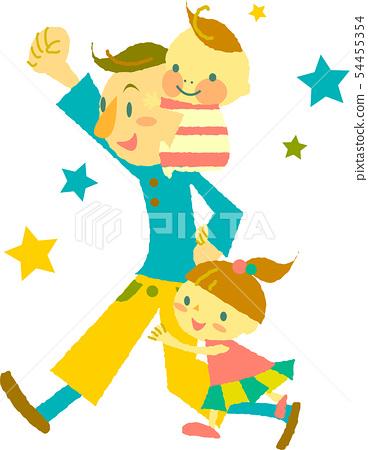 육아 아빠와 어린이 54455354