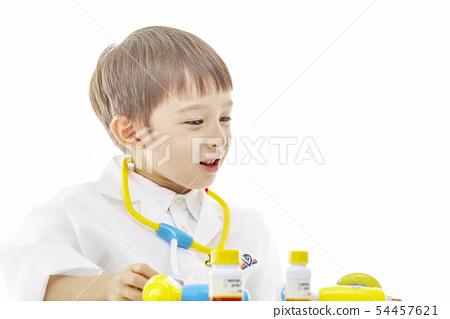 유아,어린이,키즈,의사,닥터,의료,병원놀이 54457621