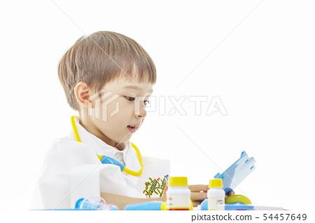 유아,어린이,키즈,의사,닥터,의료,병원놀이 54457649