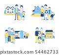 4 가족과 집 1 블루 54462733