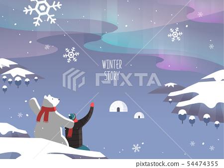 冬季旅行圖 54474355