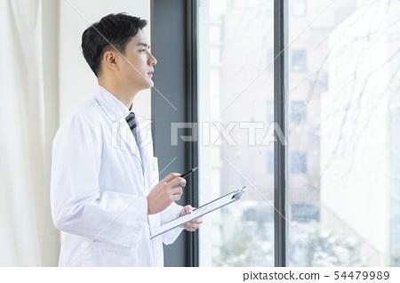 Research scientist concept, technicians working in laboratory 014 54479989