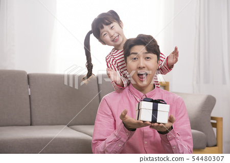 Parenting, childhood and family life concept photo 455 54480307