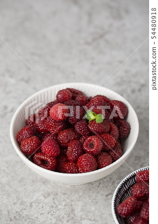 Assorted fresh berries, healthy lifestyle concept photo 111 54480918