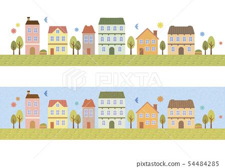 城市景觀水平 54484285