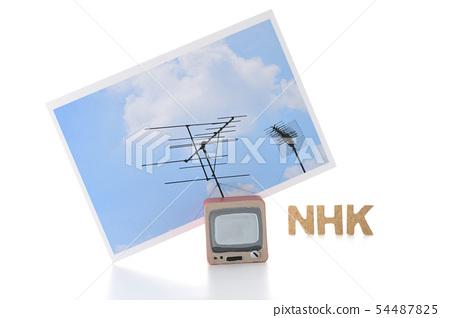 電視和天線 54487825