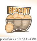 Vector logo for Biscuit 54494394