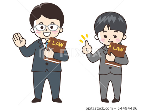 Lawyer men and women 54494486