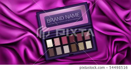 Eye shadow palette set for make up. Eyeshadow kit 54498516