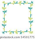 柿子或竹子框架 54501775
