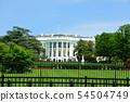 미국 워싱턴 D.C 백악관 남쪽 54504749