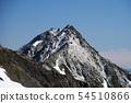 남 알프스 白峰 삼산 텐트 종주 서쪽 農鳥岳 정상에서 북악 희망 54510866