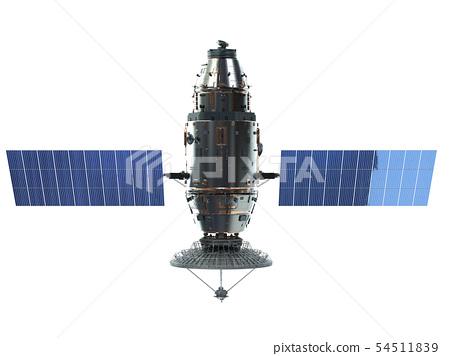 Satellite dish with antenna 54511839