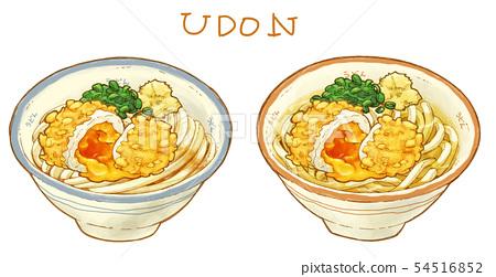 Udon 8 Stock Illustration 54516852 Pixta
