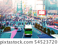 Shibuya scramble intersection 54523720