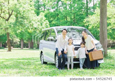 가족 자동차 여행 54526745