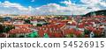 Red Tiles roofs in Prague, Czech Republic 54526915