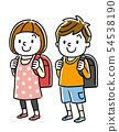 초등학생 남자와 여자 54538190
