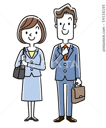 Office worker, new employee, member of society, business 54538195