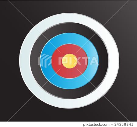 Target Archery art vector background 54539243