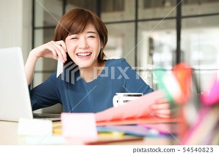 여성 비즈니스 54540823